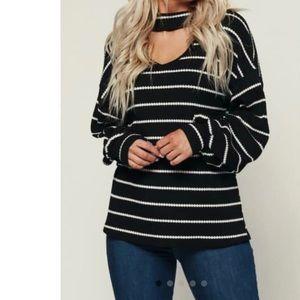 Striped Nanamacs sweater